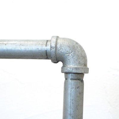 画像1: アパレルショップにも最適 おしゃれなガス管ハンガーラック幅120【即納】