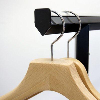 画像3: おしゃれでアパレルに最適なハンガーラック。業務用デザインハンガーラック ブラック・ダイヤモンド