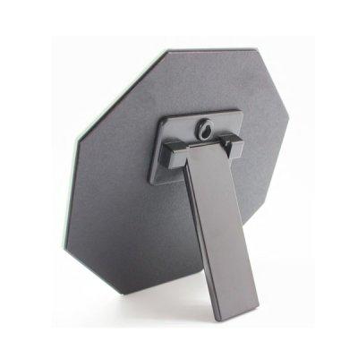 画像2: 立て掛け両用 フレームレスな八角ミラー