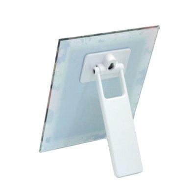 画像2: スタンドにも壁掛けにも手鏡にもなる3WAYミラー