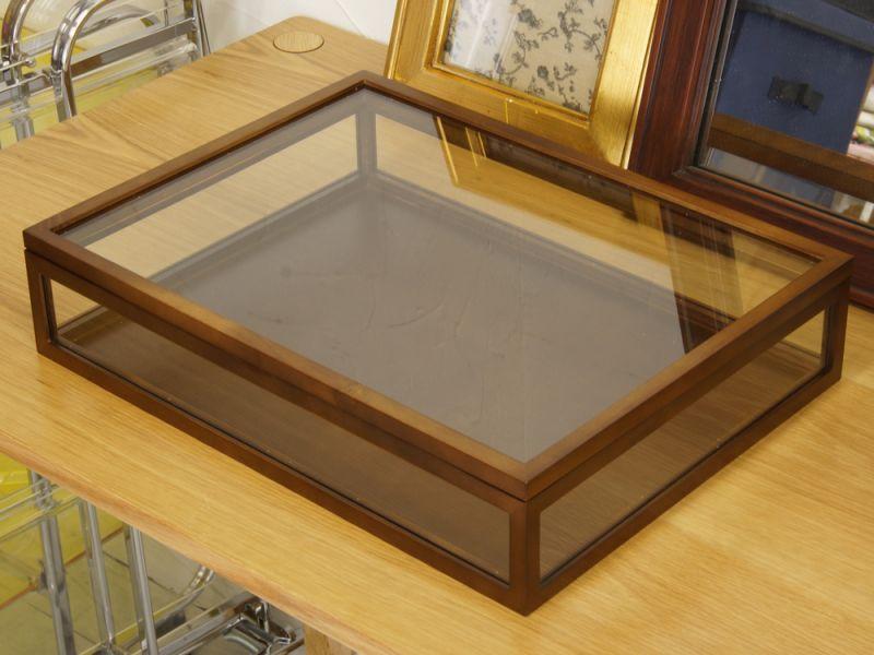 木製ガラスケース